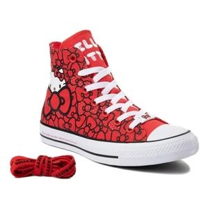 Converse Shoes - NWT Converse Hello Kitty Chuck Taylor All Star Hi